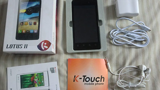 K-Touch Lotus II