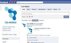 Join CSL Mobile Fans on Facebook